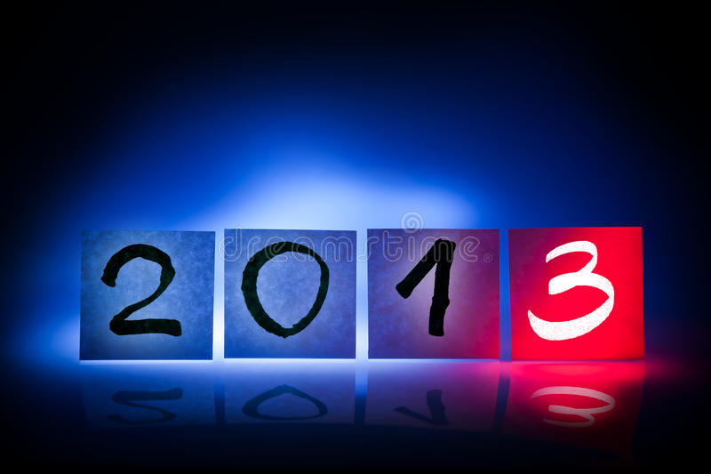 Download New Year 2013, Concept, Light Graffiti Stock Photo - Image: 26299200