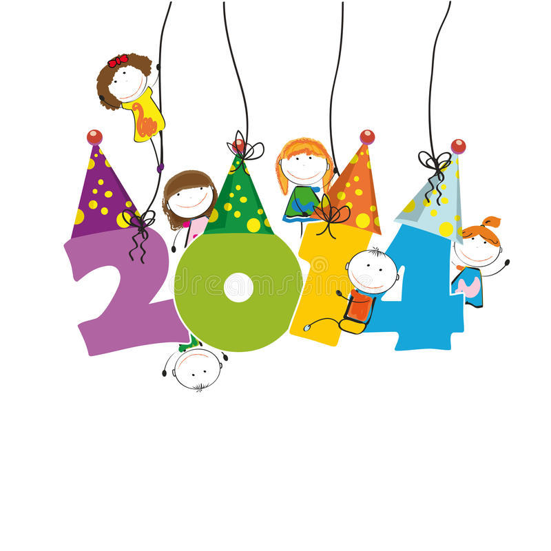 Free New Year 2014 Stock Photo - 32974180