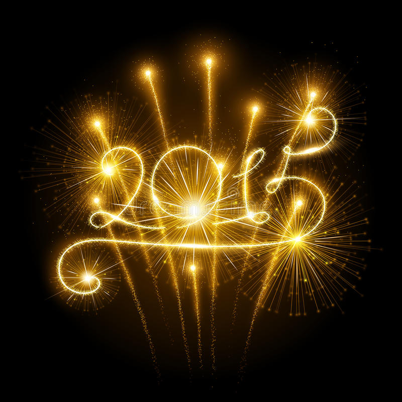 Free New Year 2015 Fireworks Stock Images - 43640184