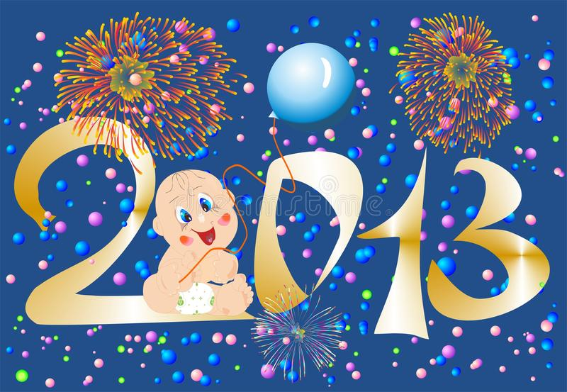 Download New year stock illustration. Illustration of graphic - 26838132