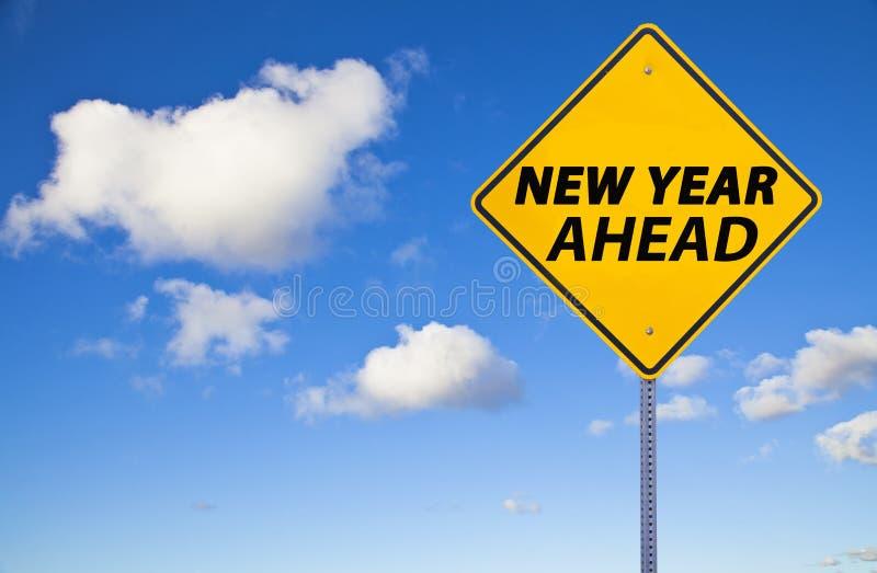 New Year  Ahead stock photos