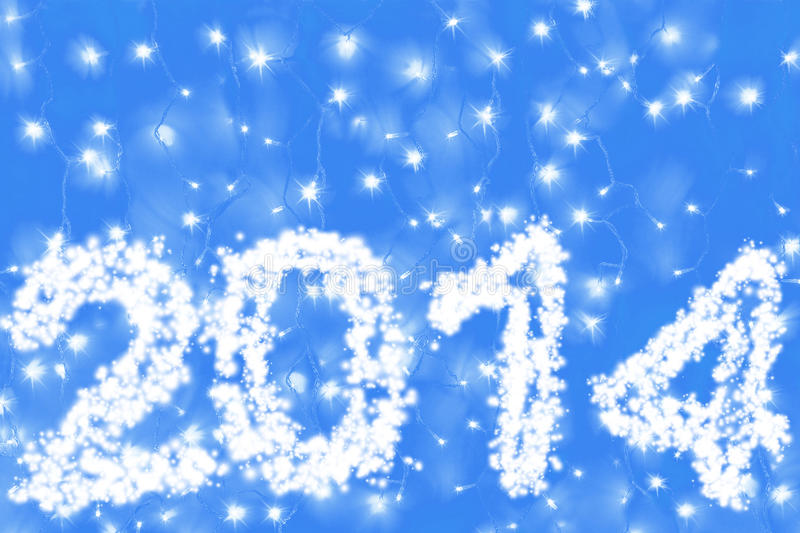 Download New Year 2014 stock image. Image of beginning, illumination - 34049567