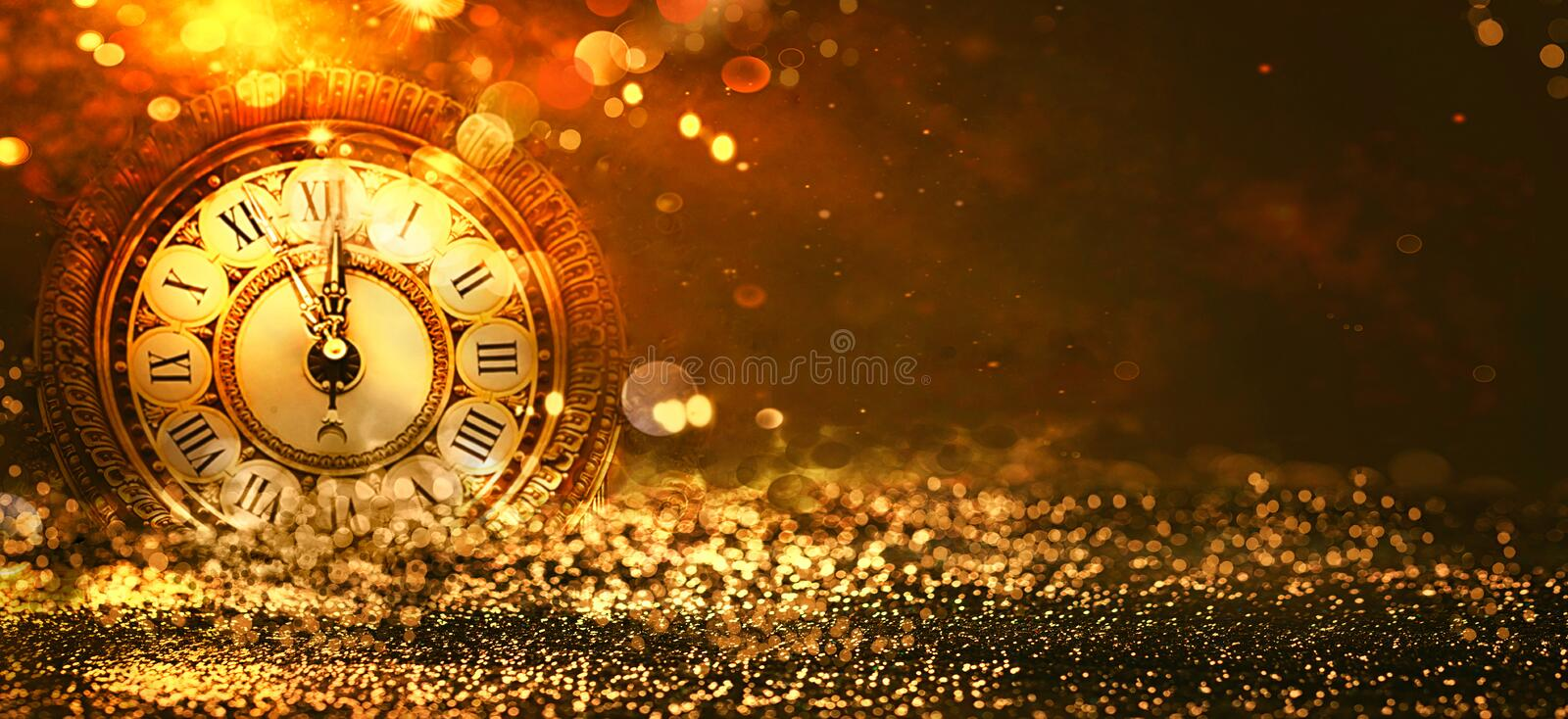 New Year Background royalty free stock photography