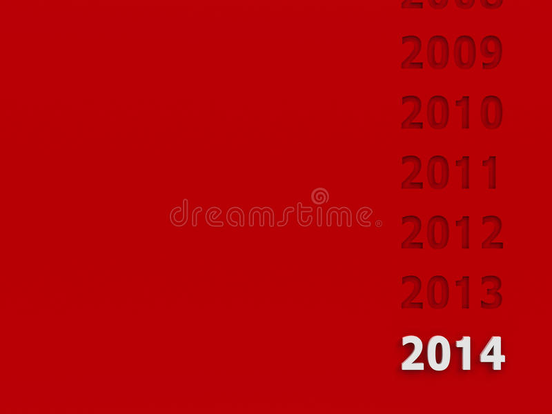 Download New year 2014 background stock illustration. Illustration of present - 36392302