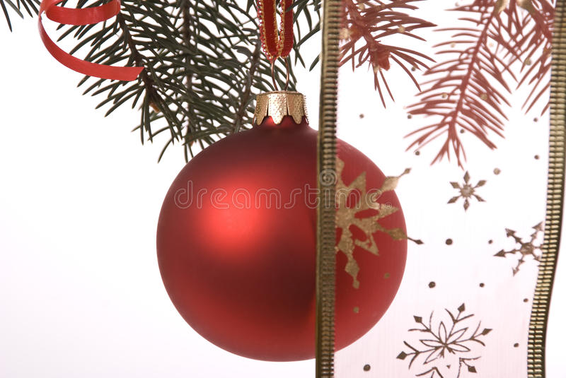 New-Year ball royalty free stock photo