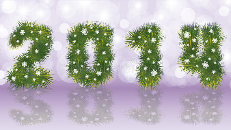 Download New 2014 Year banner stock vector. Image of green, concept - 34270843