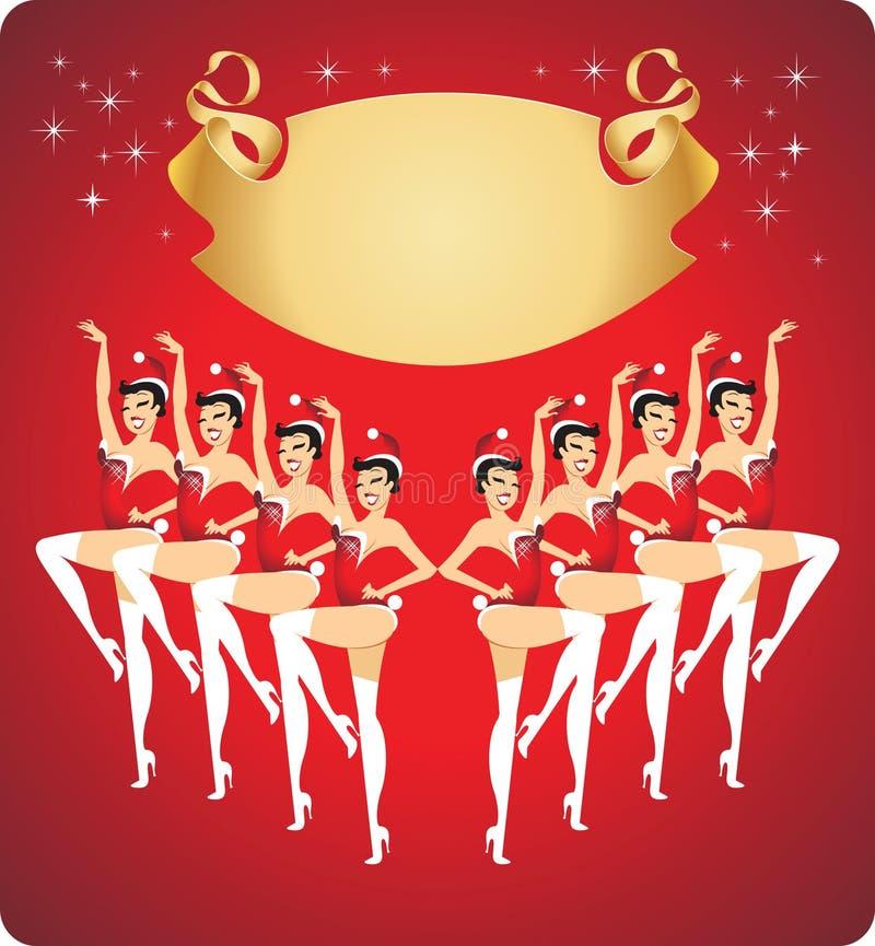 New Year Cabaret Show Royalty Free Stock Image