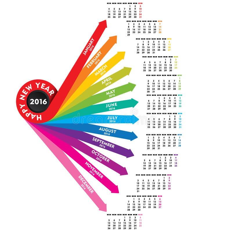 Event Calendar Illustration : New year calendar design stock vector illustration