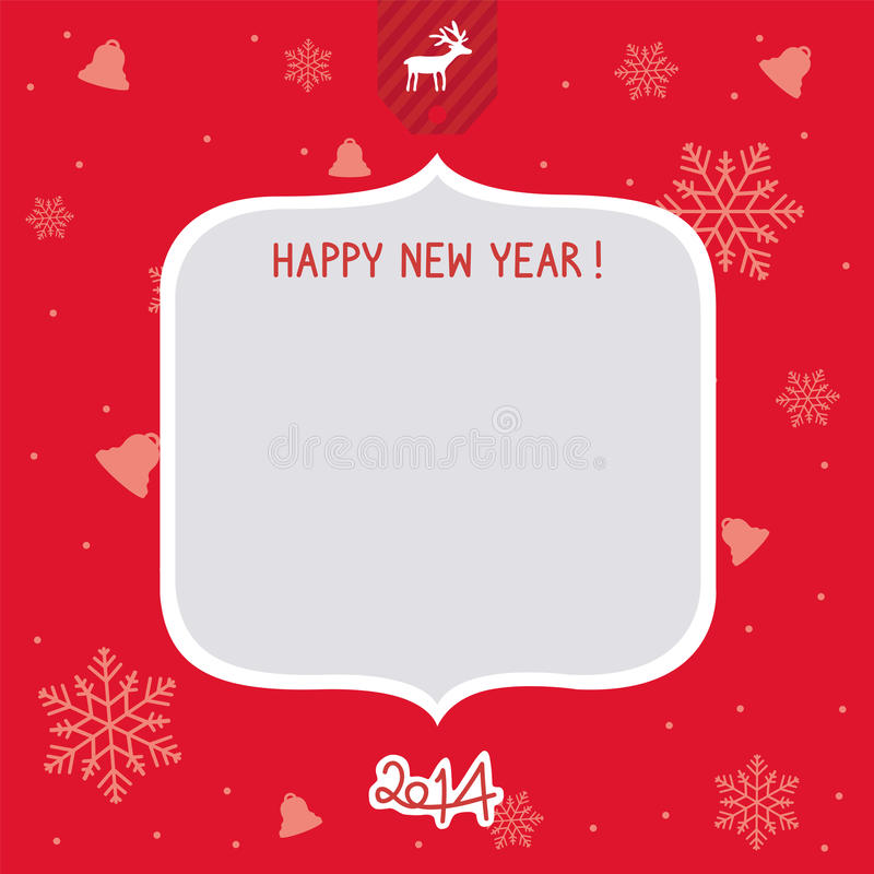 New Year Card1 Royalty Free Stock Images