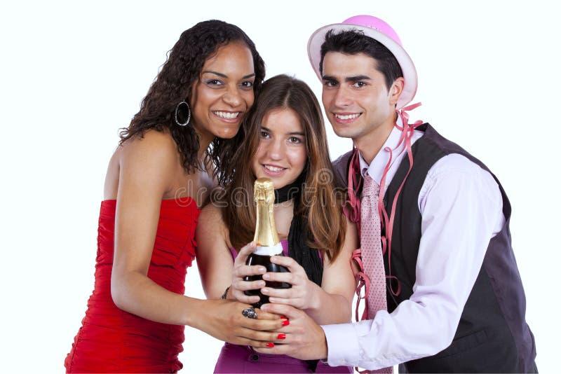New year celebration stock photo