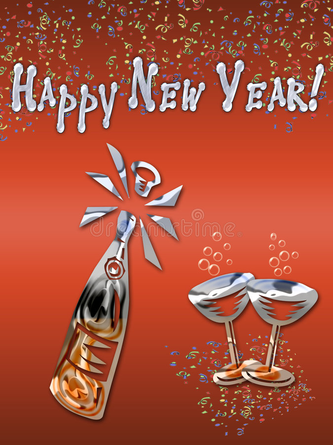 Download New Year Celebration Royalty Free Stock Photography - Image: 6934187