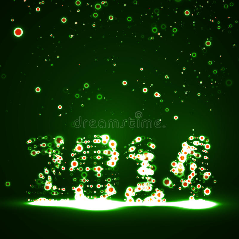 Download New Year Celebration Illustration Stock Vector - Image: 34393294