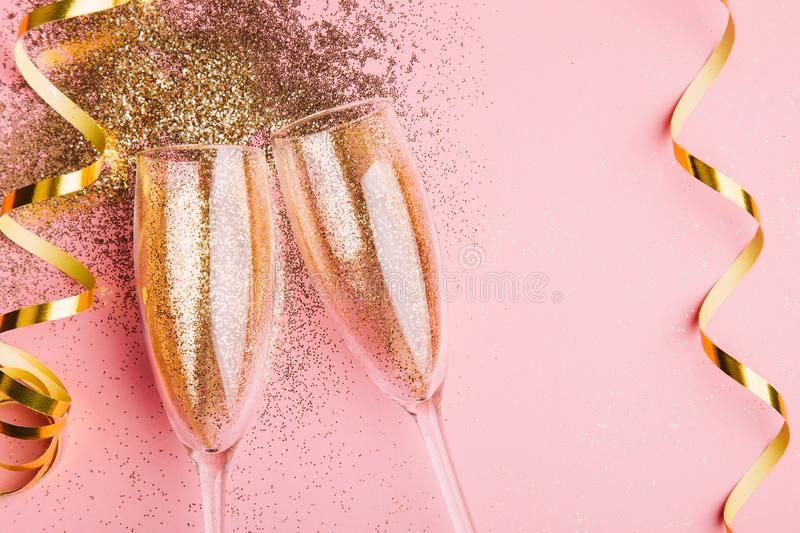 New year celebration party shiny and bright stock images