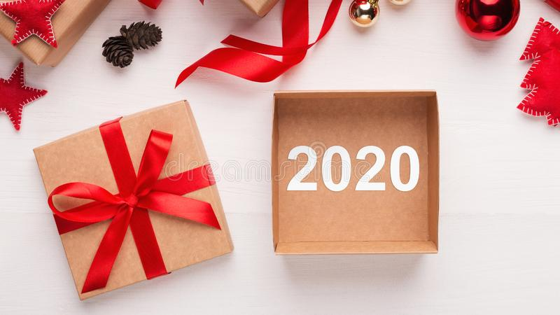 New Year 2020 is coming concept royalty free stock photo
