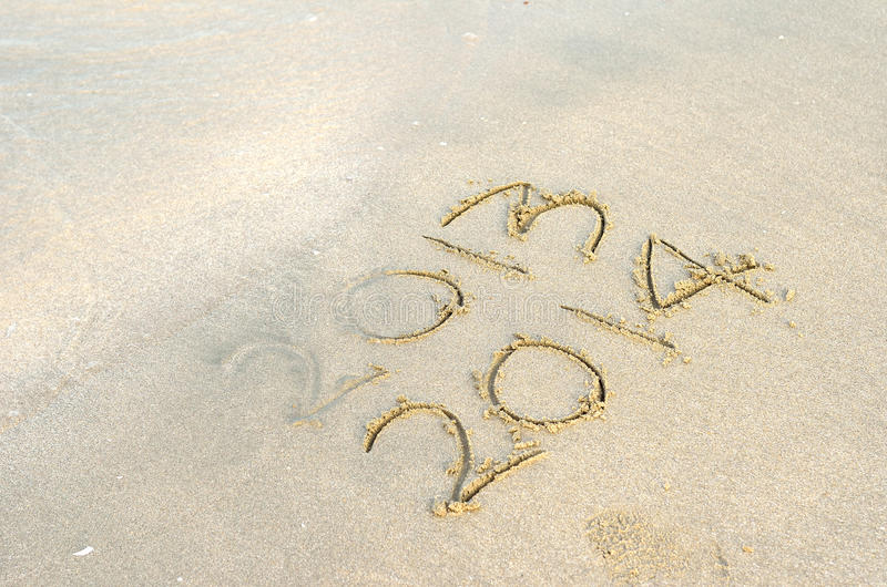 Download New Year 2014 Is Coming Concept Stock Photos - Image: 32256773