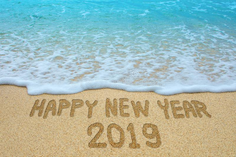 New Year 2019 is coming stock photos