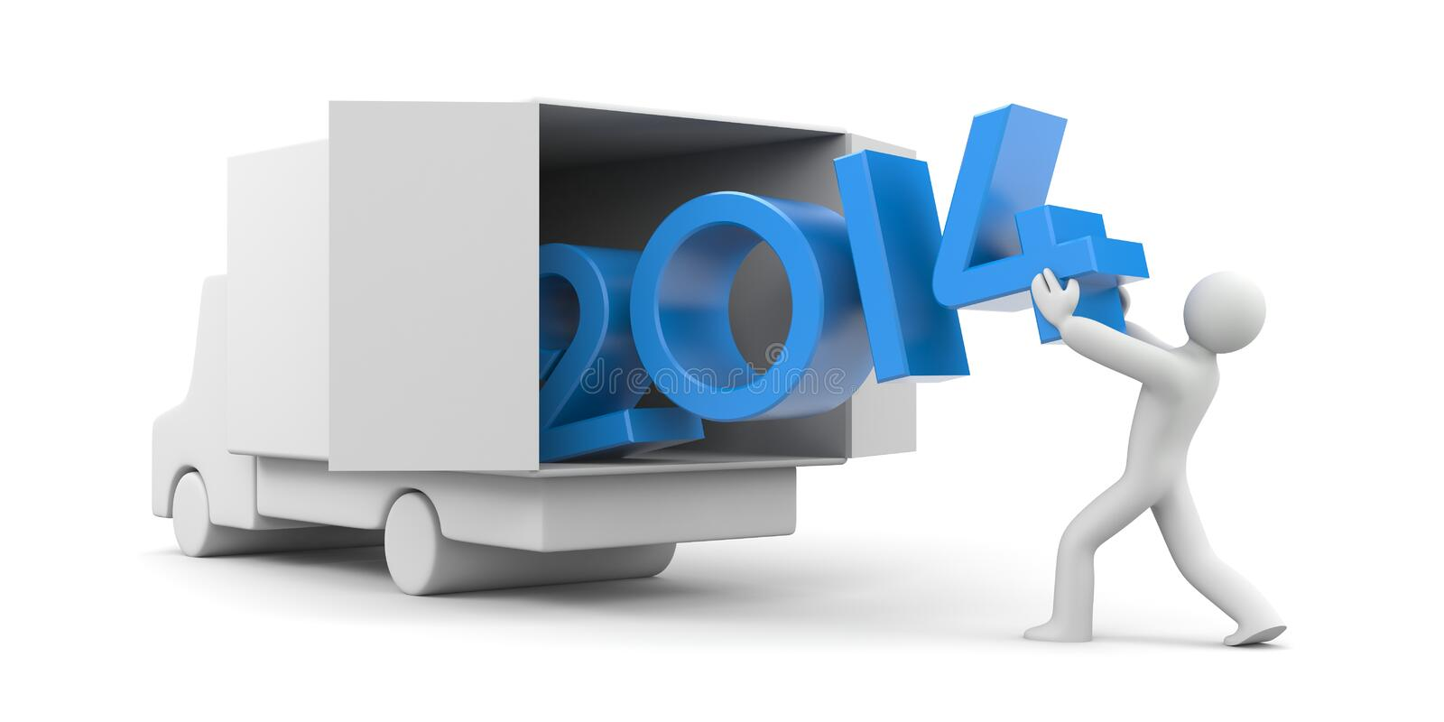 Download New year coming stock illustration. Illustration of mover - 35792167