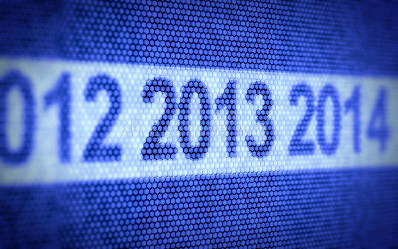 Download New Year concept stock illustration. Image of symbol - 25895007