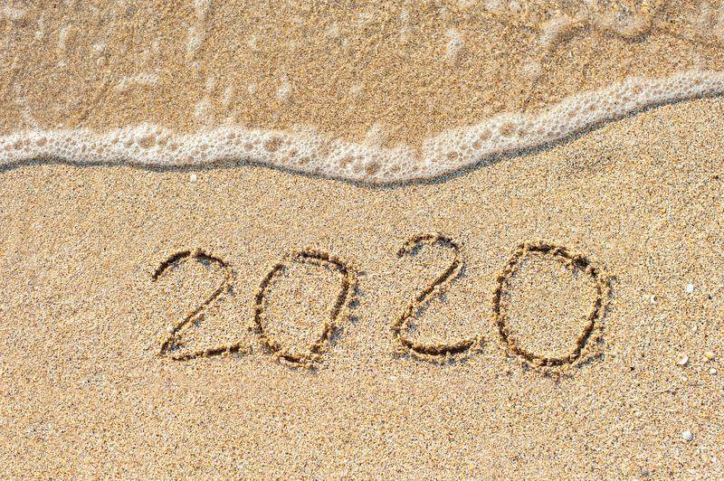 2020 new year concept royalty free stock images