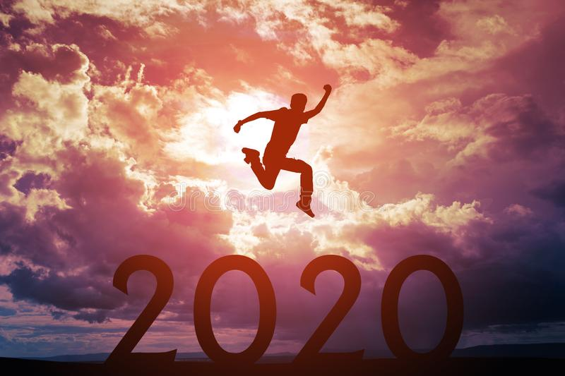 2020 New Year concepts royalty free stock photos