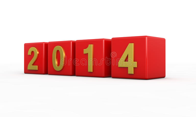Download New year 2014 stock illustration. Illustration of abstract - 33873049