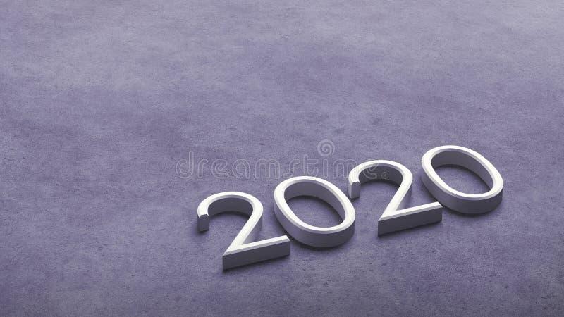 2020 3d rendering. vector illustration