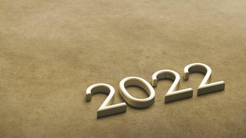 2022 3d rendering. royalty free illustration