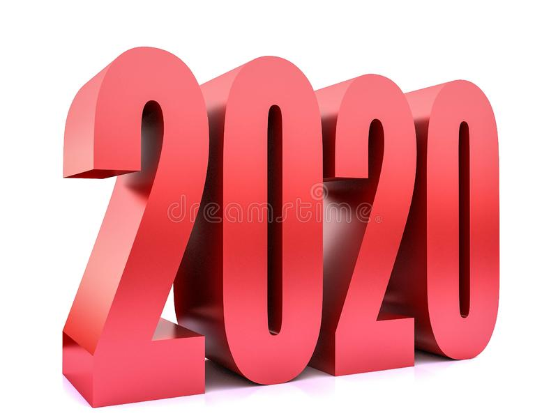 New year 2020 , stock image
