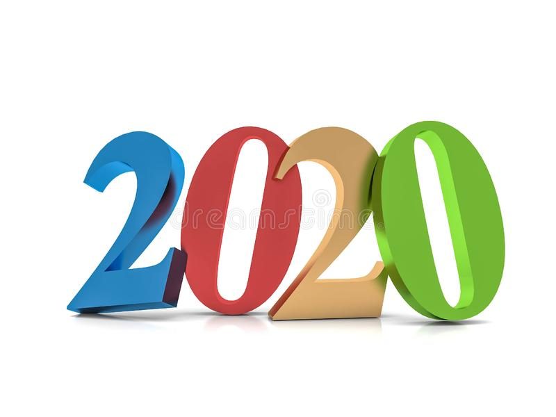 New year 2020 , stock images