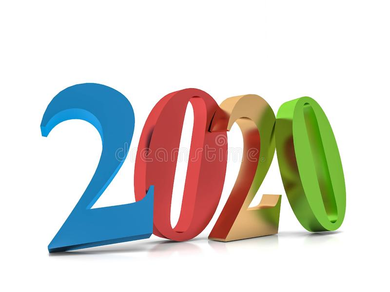 New year 2020 , stock photography