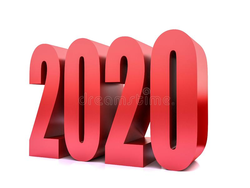New year 2020 , stock photos