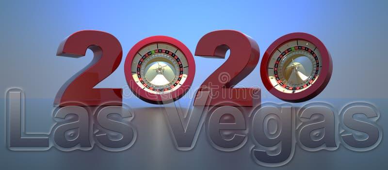 New year 2020,3D rendering vector illustration
