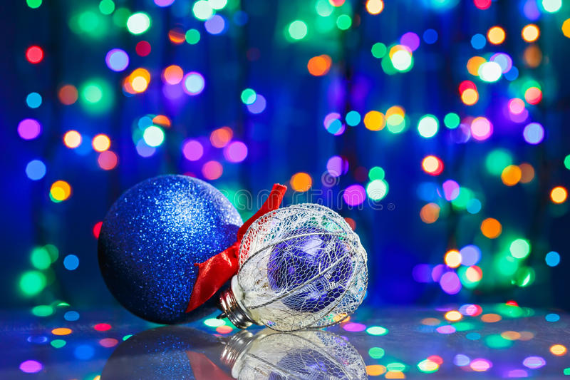 Download New Year Decoration Ball Toys Stock Photo - Image: 27095018