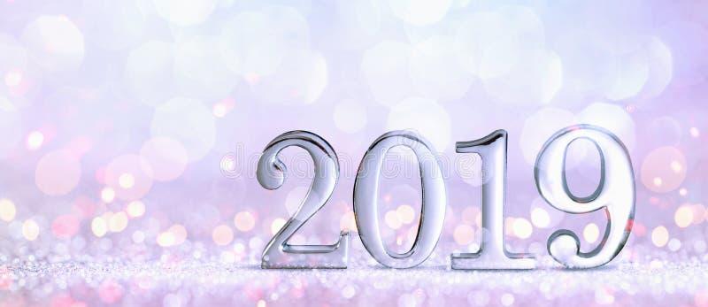 New Year Decoration 2019 stock photos