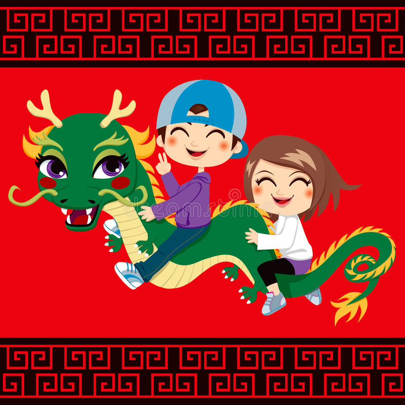 Download New Year Dragon Ride Royalty Free Stock Photo - Image: 22737405