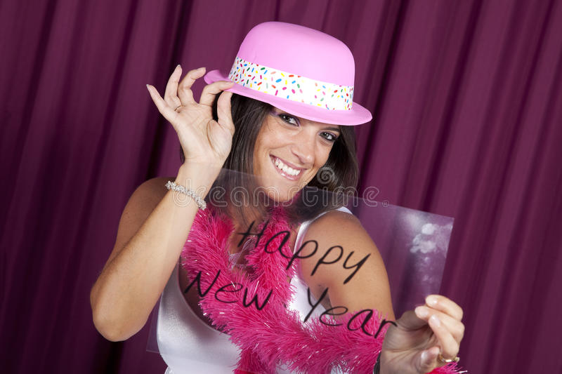 New year eve celebration stock photos