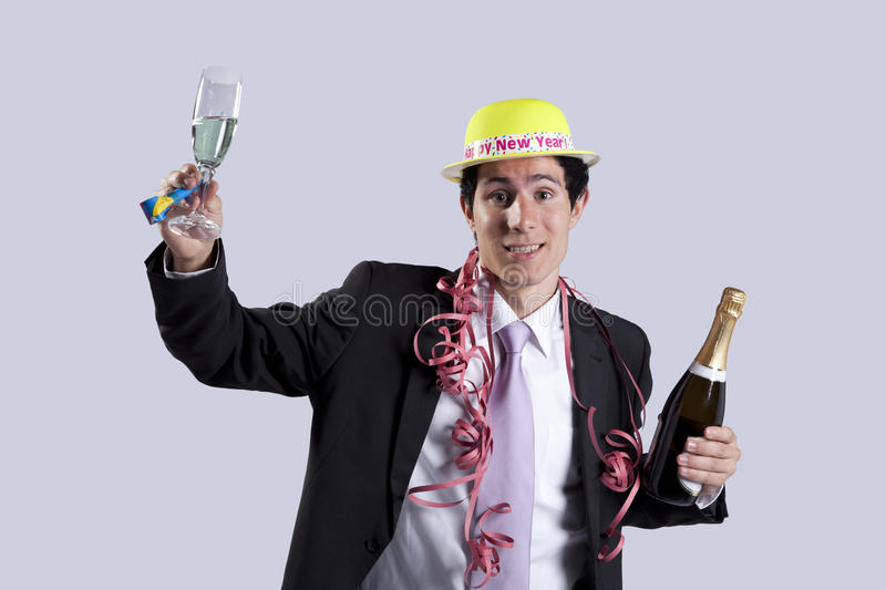New year eve celebration royalty free stock image