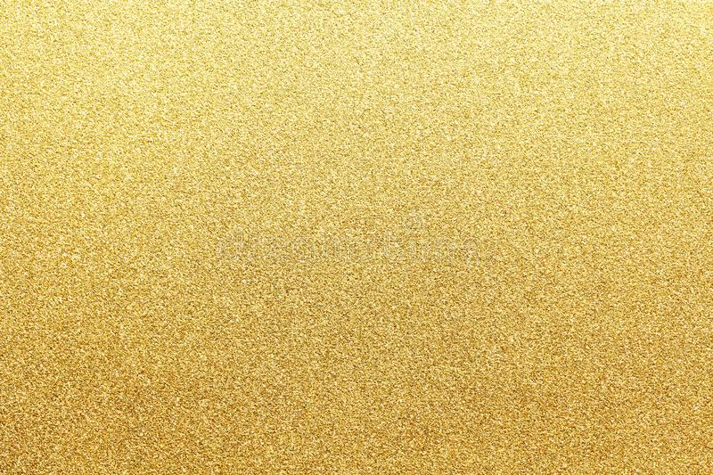 New year gold colored glitter abstract or vintage texture background stock photo