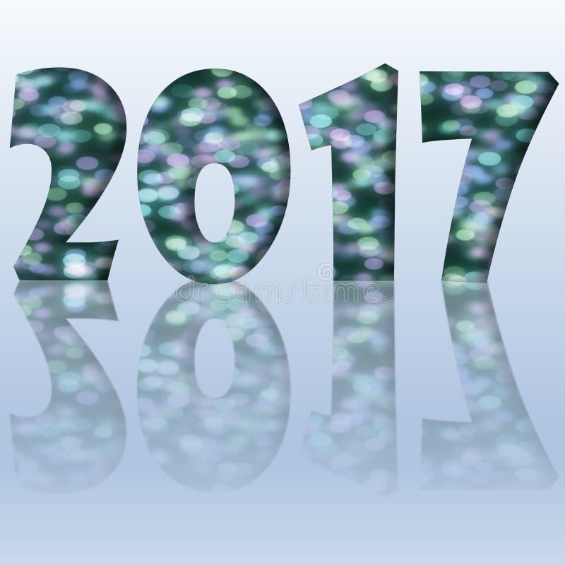 New year 2017 vector illustration