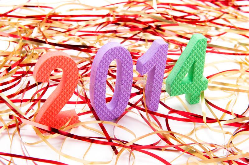 Download The New Year is Here! stock photo. Image of characters - 31351962