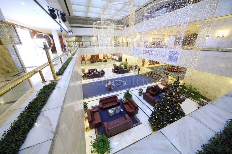 Download New Year Interior In Lobby Of The President Hotel Editorial Image - Image: 32223575
