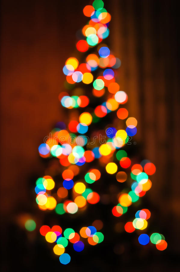 New year lights colored royalty free stock images