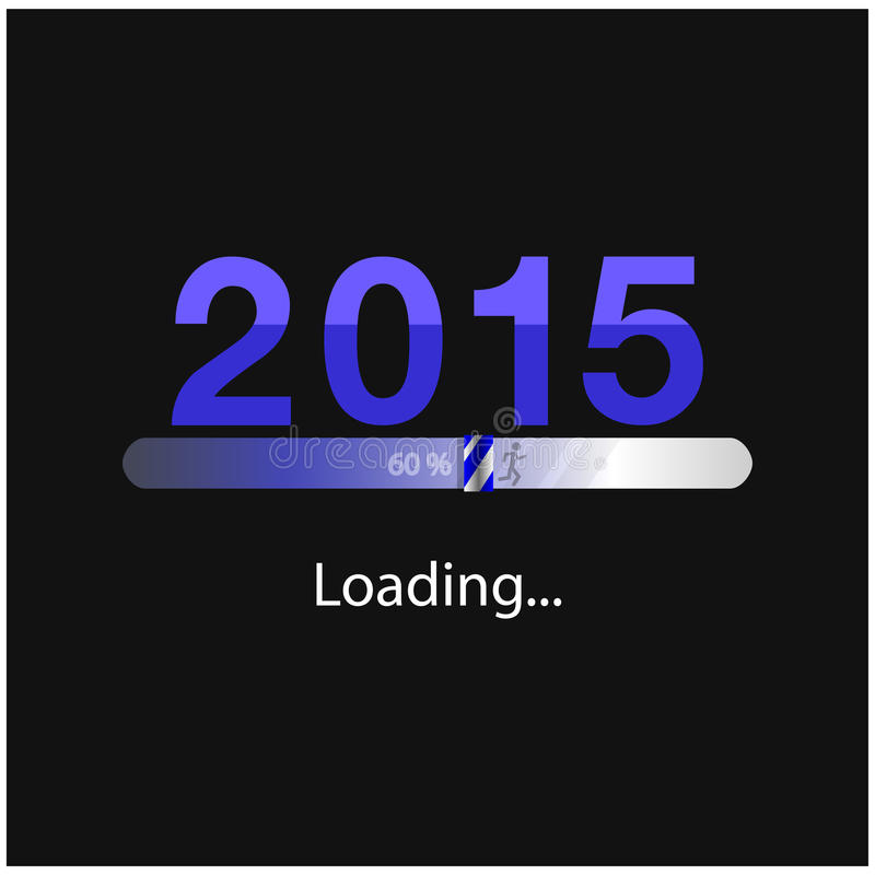 Download New Year 2015 Loading Background,happy New Year Template Stock Vector - Image: 42188472