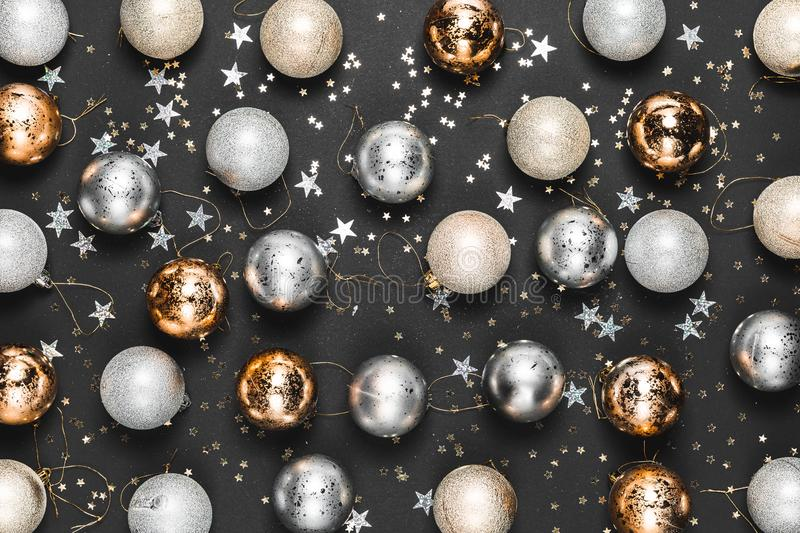 Merry Christmas Images In Gold And Silver 2020 New Year 2020. Merry Christmas And Happy Holidays Greeting Card