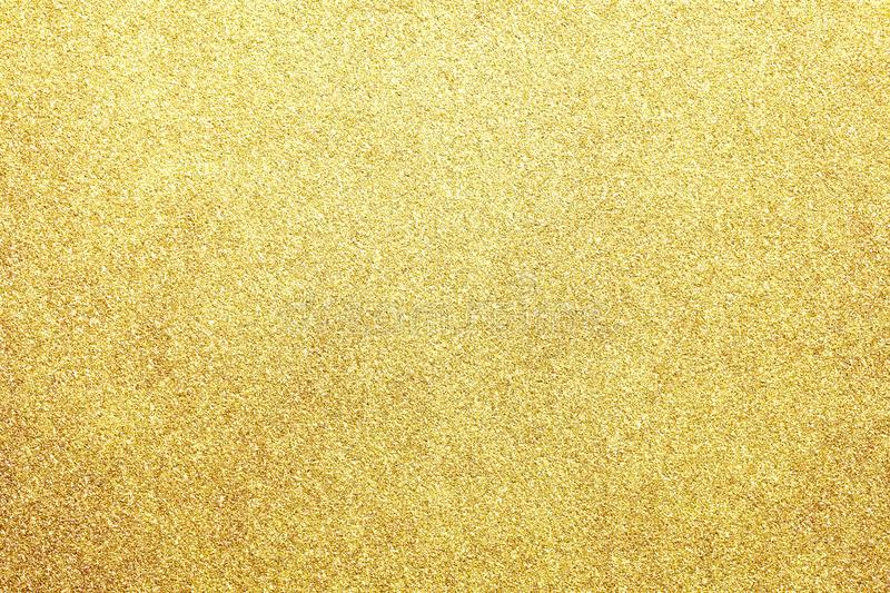 New year gold colored glitter abstract or vintage texture background royalty free stock images