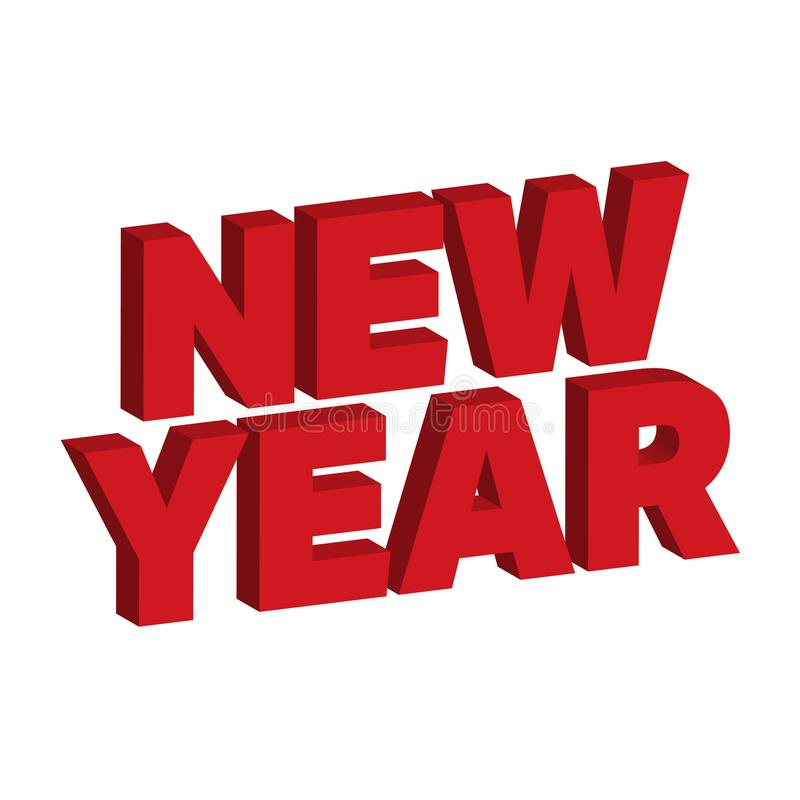 New Year 2020 royalty free stock photography