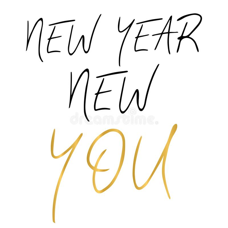 new year new you stock illustrations new year new you