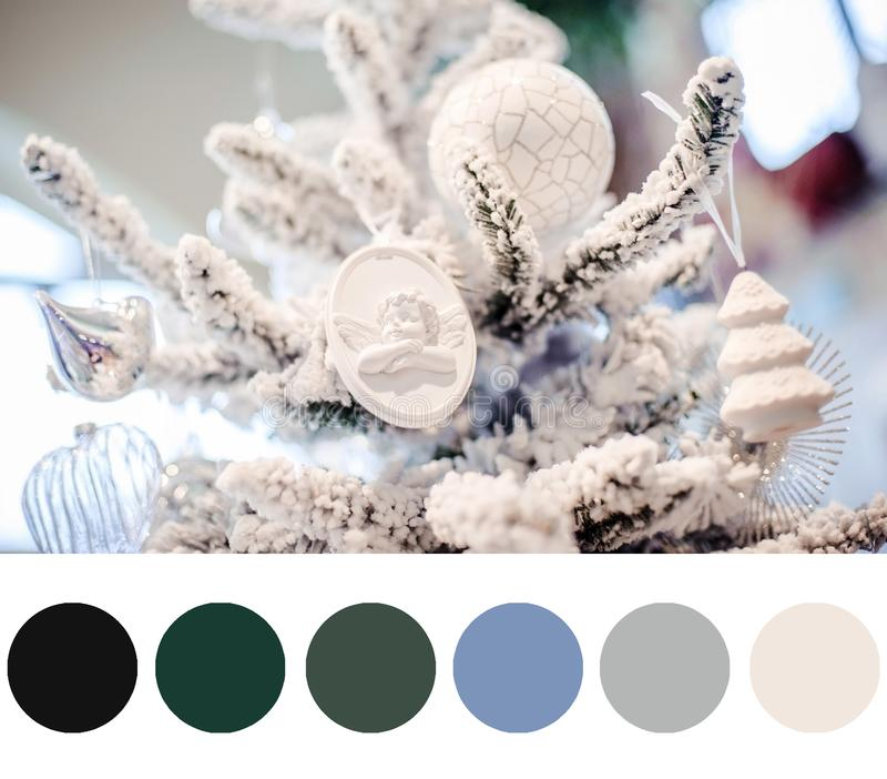 New year palette royalty free stock photos
