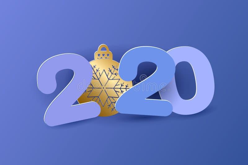 2019 New Year design vector illustration