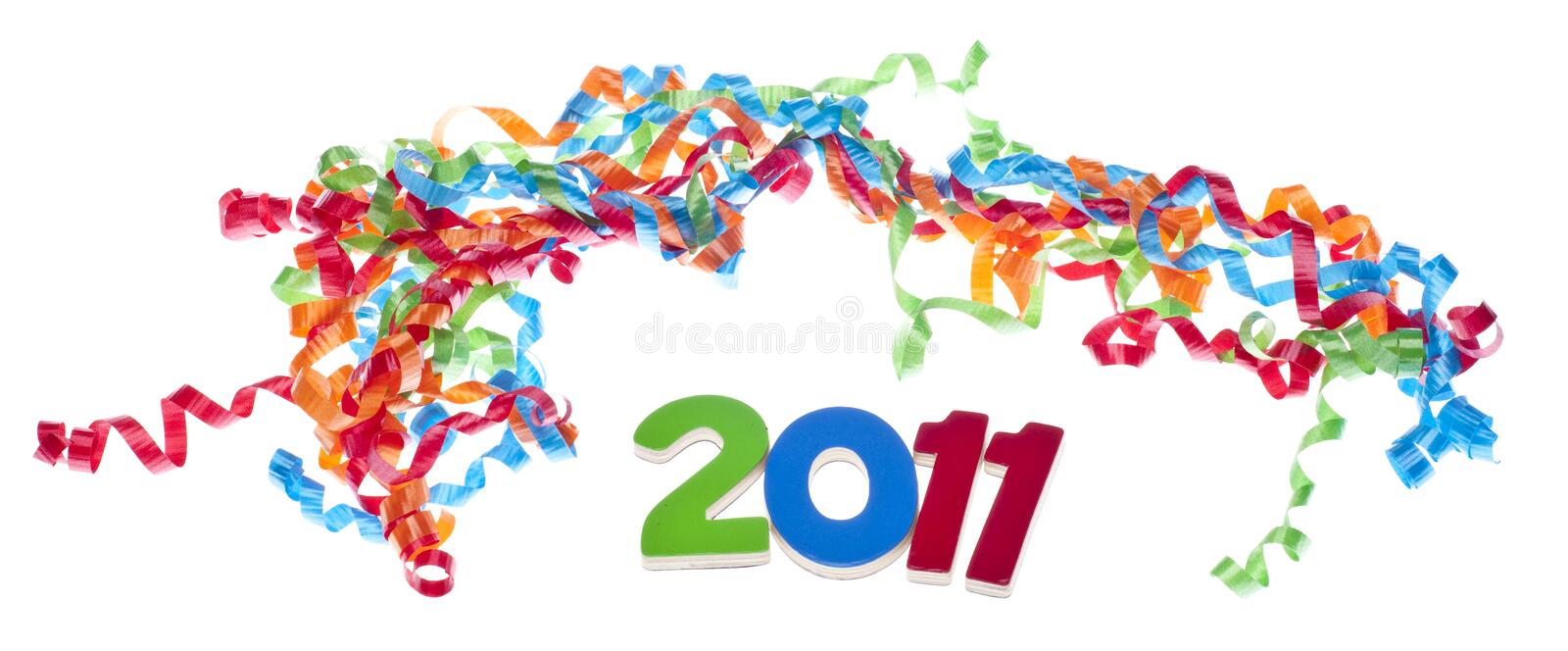 Download New Year Party Concept stock photo. Image of studio, white - 17273520